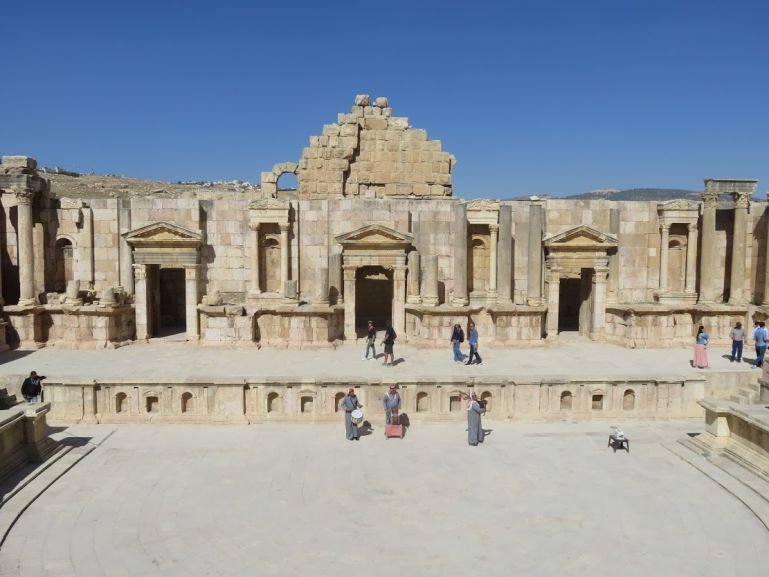 Southern theatre in Jerash