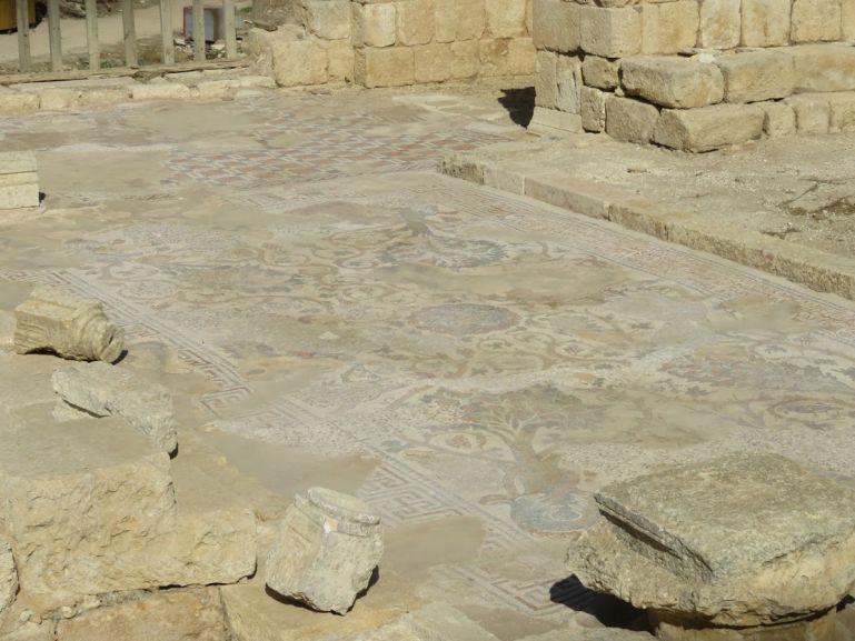 Mosaic floor in Jerash