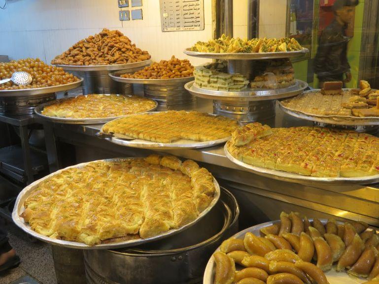 Sweets in Amman