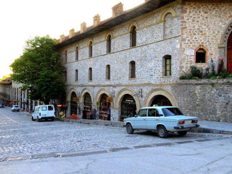 Historic center of Sheki Azerbaijan