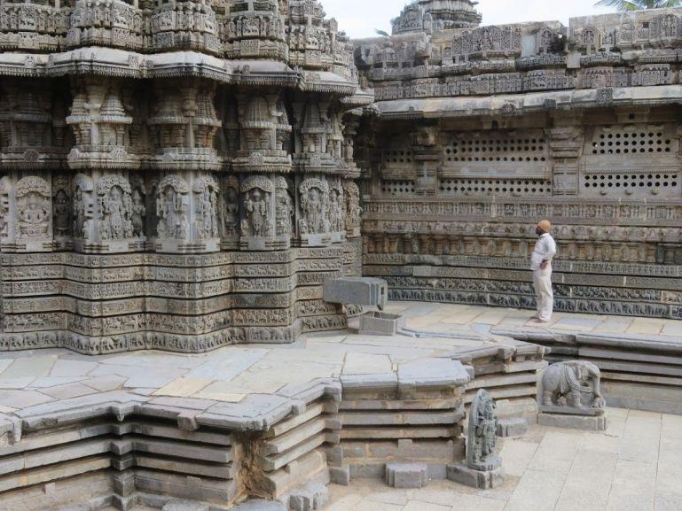Somnathpur temple in Karnataka India