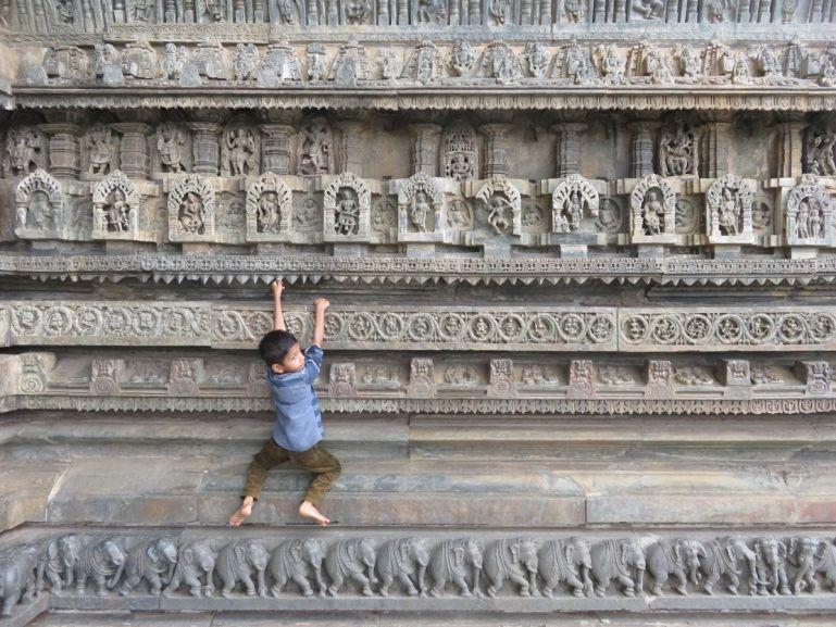 The Belur and Halebid temples
