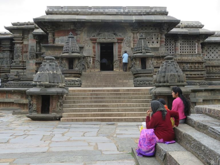 Belur temple in Karnataka, India