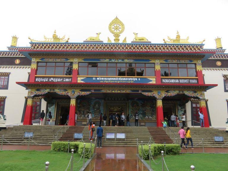 Namdroling monastery in Bylakuppe Karnataka