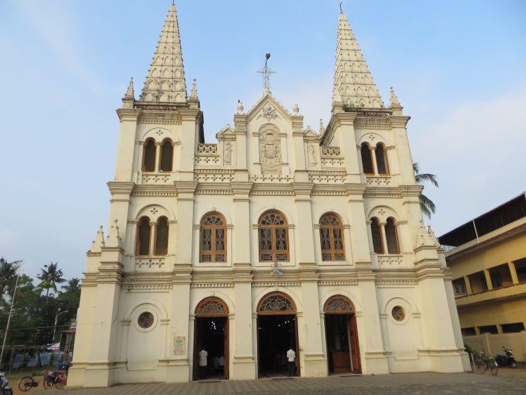 Santa Cruz basilica in Fort Kochi in Kerala