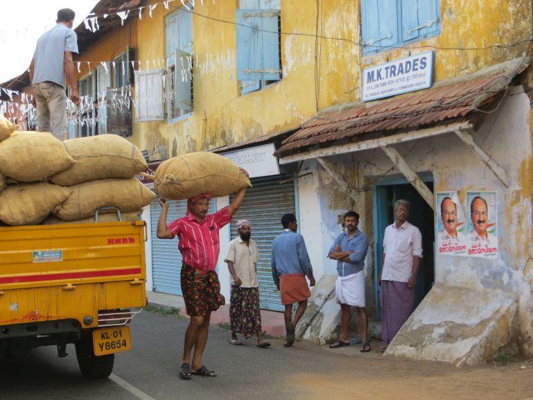 Mattancherry in Fort Kochi in Kerala