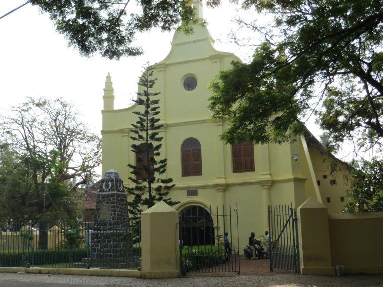 Saint Francis church in Fort Kochi in Kerala