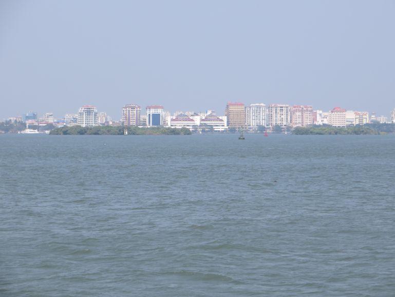 Ernakulam skyline