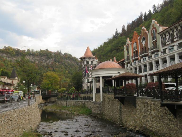 Crown Plaza hotel in Borjomi Georgia