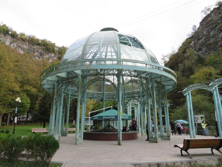 Borjomi mineral water spring