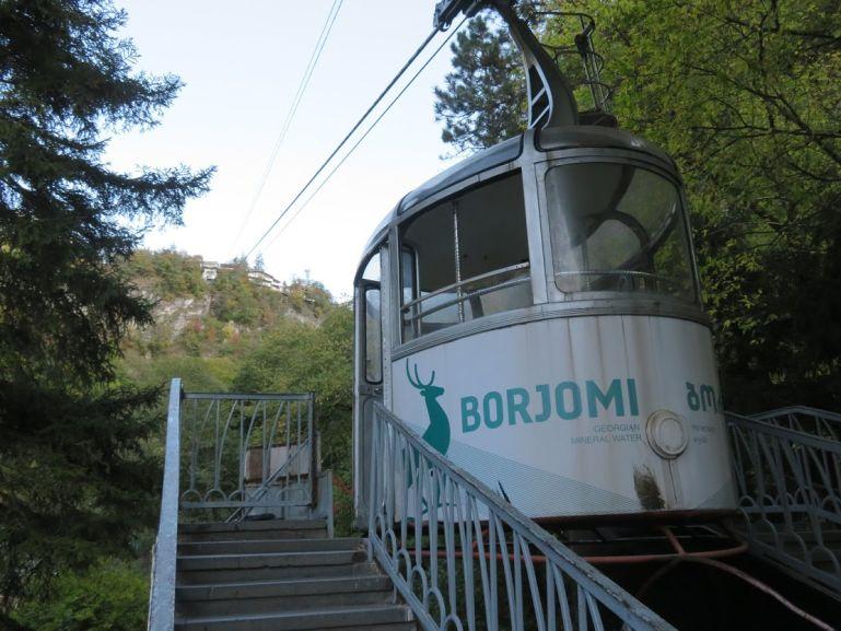 Borjomi cable car