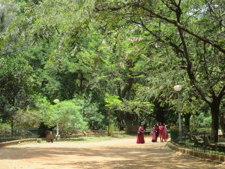 Cubbon Park in Bangalore, India