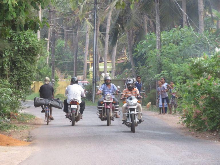 Roads in Karnataka, India