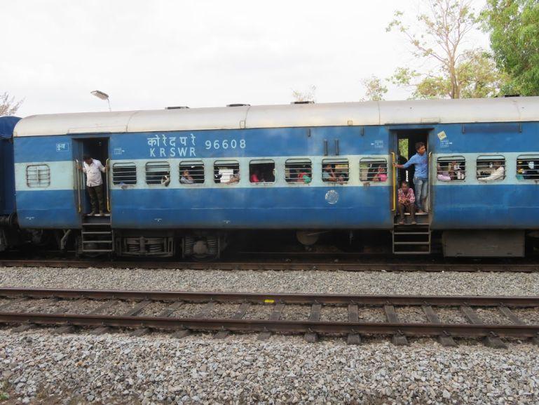 Train travel in Karnataka, India
