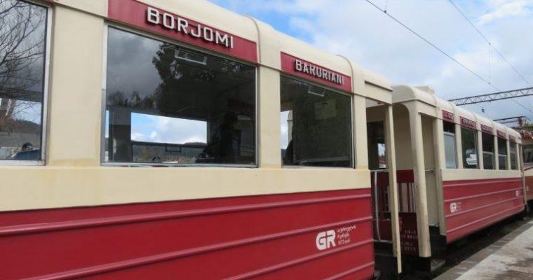 Kukushka train: the Borjomi to Bakuriani railway