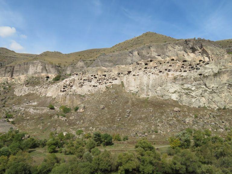 Vardzia Cave town viewpoint
