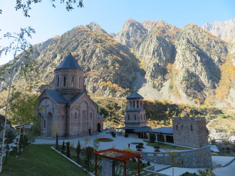 Dariali monastery on the Georgian Military highway