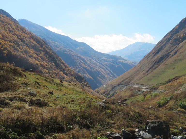 Views from Juta Georgia
