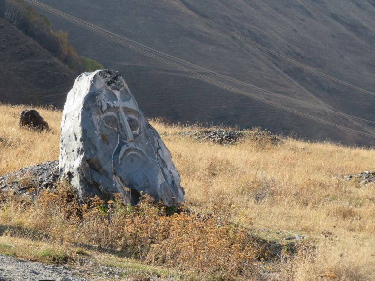 Stone sculptures in Sno