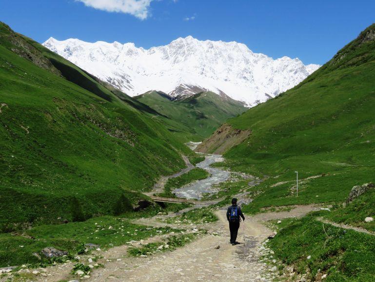Hiking around Mestia Svaneti