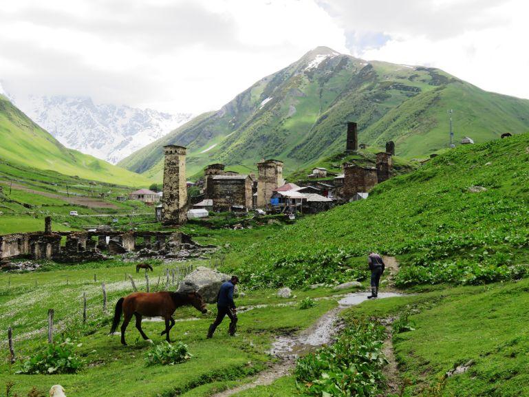 From Mestia to Ushguli Svaneti