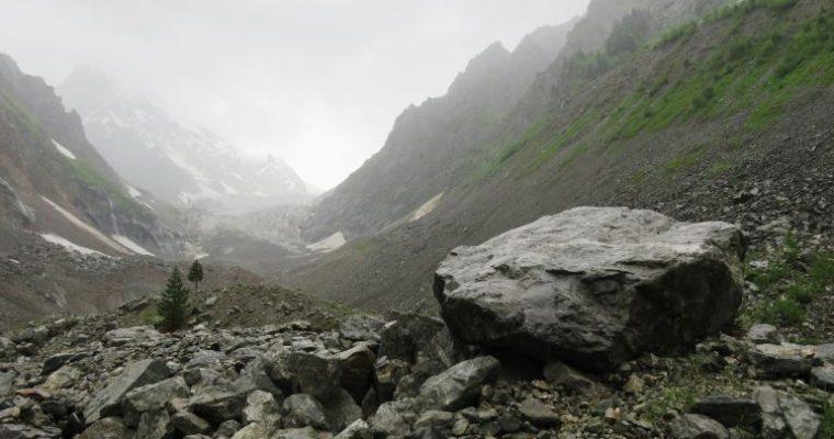 The Chalaadi glacier hike in Svaneti, Georgia