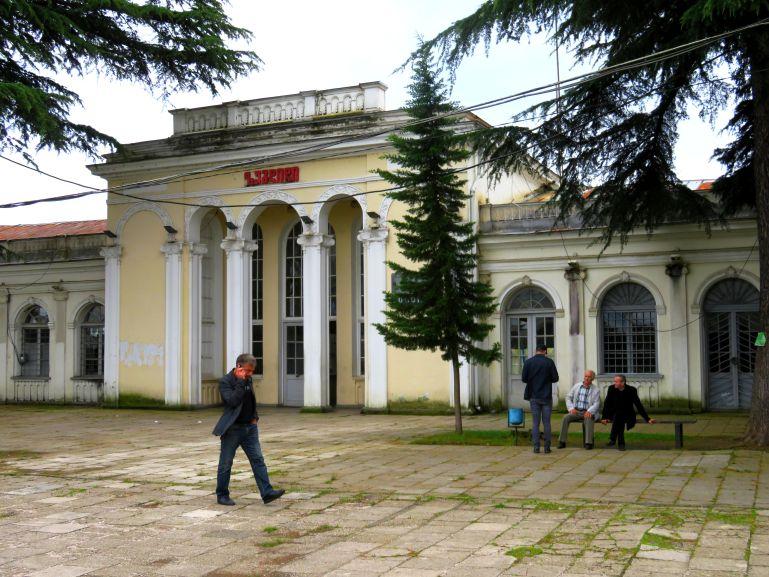 Train station in Zugdidi Georgia