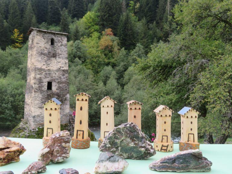 Tower of love from From Mestia to Ushguli Svaneti