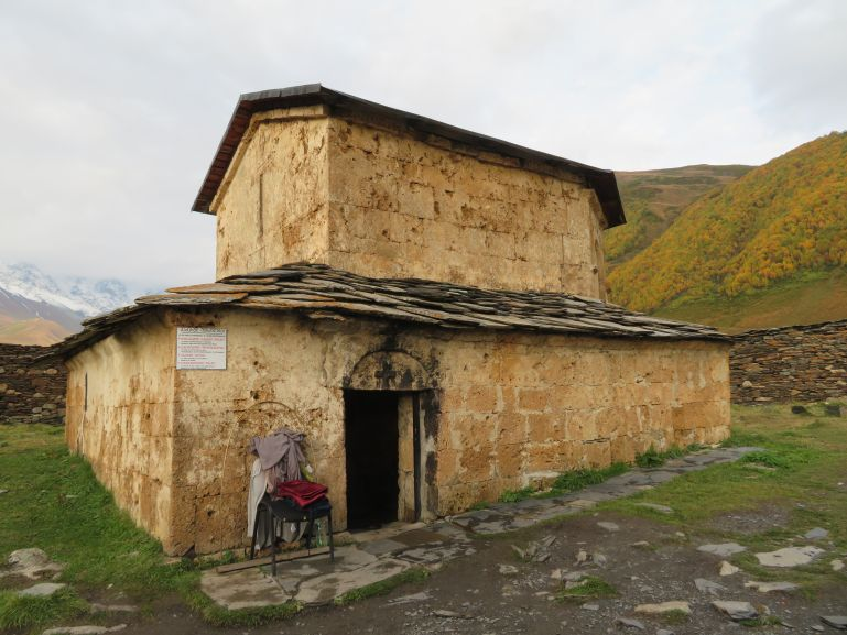 Lamaria church Ushguli Svaneti