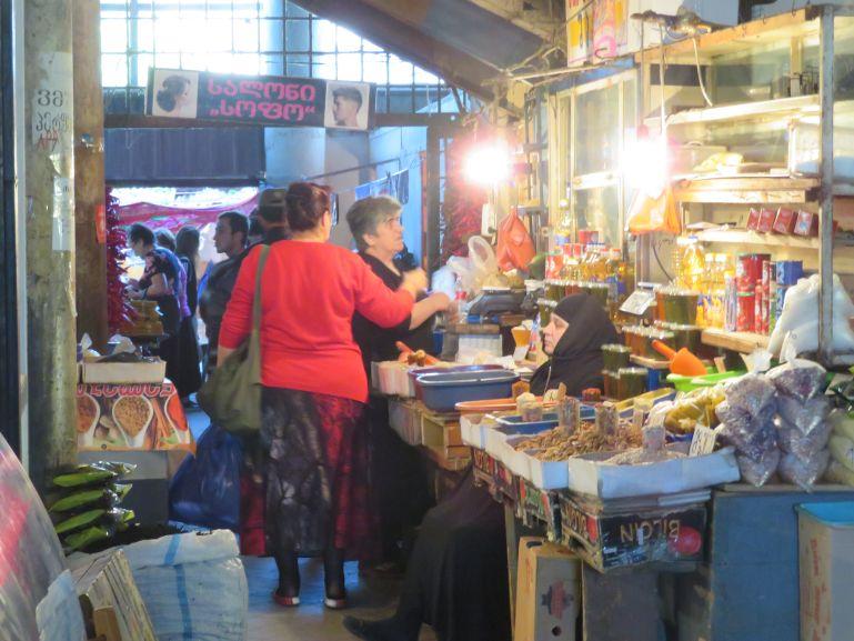 Market in Zugdidi Georgia